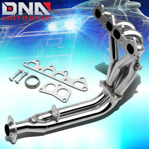 Stainless Steel 4 2 1 Header For 94 97 Honda Accord 2 2 4cyl Cd Exhaust manifold