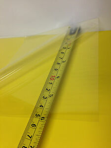 Lot Of 10 Clear Pet pc Blend Thermoforming Plastic Sheet 0 010 X 26 X56 5