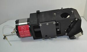 Heavy Piston solenoid Actuated Mirror Assembly Possibly For Spectrograph
