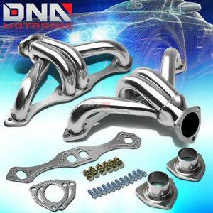 For Chevy Small Block V8 262 283 302 305 307 327 350 400 Header Exhaust Manifold