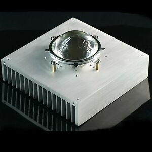 170 170 44mm 6 7inch Aluminum Heatsink Radiator W 57mm Lens Reflector