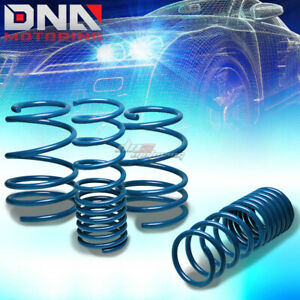 08 13 Scion Xd Xp110 2zr Blue 1 5 drop Suspension Lowering Spring F285 r235lb