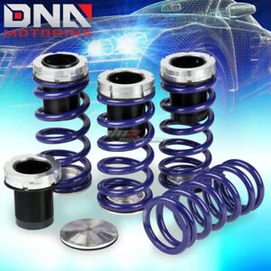 For 240sx Silvia S13 S14 1 4 Scaled Suspension Black Coilover Blue Springs