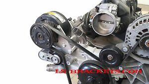 Ls R4 A C Relocation Bracket Turbo Lq Ls2 Ls3 Ls6 Works With Factory Ac Lines