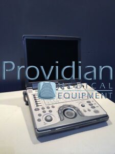 Ge Logiq E Portable Ultrasound With 4c rs Ob Transducer