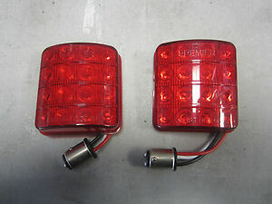 Led Tail Lights 1951 1952 Chevrolet Cars Belair Deluxe Styleline 1 Pair New