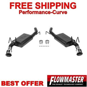 Flowmaster American Thunder Exhaust Fits 10 15 Chevrolet Camaro 3 6l 817483