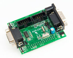 Avr can Atmel At90can128 Prototype Board Uart Jtag Isp