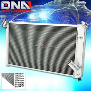 73 76 Chevy Corvette V8 5 7 7 4 3 Core Row Full Aluminum Racing Cooling Radiator