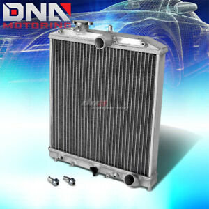 For 92 00 Honda Civic Del Sol 91 01 Acura Integra At Mt 2 Row Aluminum Radiator