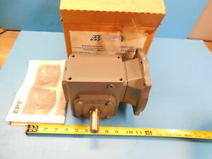 New Morse F118 20 56c L Worm Gear Reducer Industrial Made In Usa