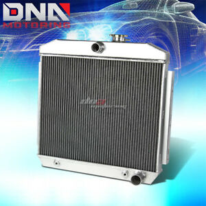 55 57 Chevy Small Block 150 210 Sbc V8 3 Row Core Full Aluminum Racing Radiator