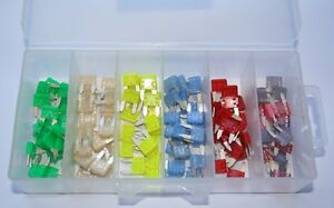 Made In Usa New 120pcs Mini Assorted Auto Automotive Fuse Made In Usa