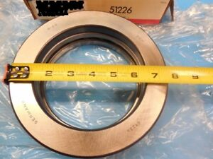 New Skf 51226 Thrust Ball Bearing Industrial Made In Usa Grooved