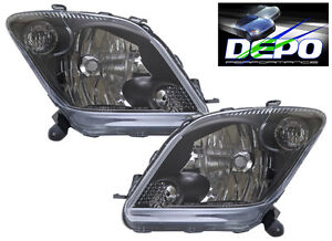 Oe Type Black Head Lamps With Clear Turn Signal Fits Scion Xa 04 05