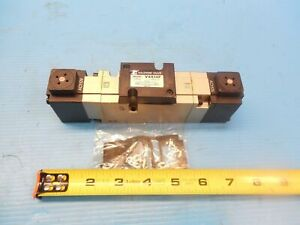 New Smc Pneumatic V4514f Solenoid Valve Industrial Surplus Hydraulics Valves