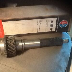 New 1958 1962 Ford 3 Speed Overdrive Input Shaft For 223 Ci 6 Cylinder