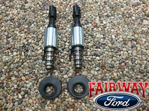 F 150 Super Duty Oem Genuine Ford Vct Solenoids Seals Pair Early 5 4l 4 6l