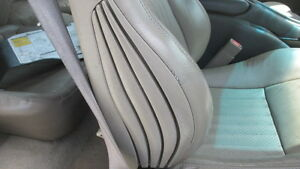 1997 Firebird Trans Am Right Seat Core In Tan Leather
