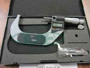 3 4 75 100mm Electronic Digital Micrometer New Model Part 412 34 new