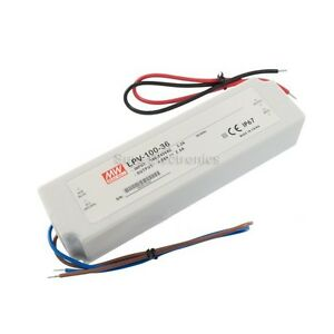 Mean Well Lpv 100 36 100w 36v 2 8a Constant Voltage Led Driver Waterproof