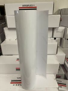 Roll White Vinyl 24 X 50 Yards 150 Feet Great Deal Glossy