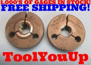 661 11 Ns Thread Ring Gages Go No Go Special Size 11 16 Undersize Shop Tools