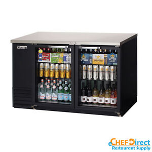 Everest Ebb59g 59 Back Bar Cooler W Glass Door