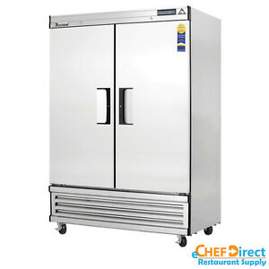 Everest Ebf2 54 Double Door Reach in Freezer