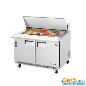 Everest Epbr2 48 Mega Top Sandwich Prep Table