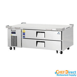 Everest Ecb52 60d2 60 Double Drawer Chef Base