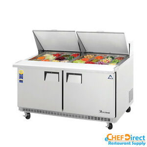 Everest Epbwr2 60 Mega Top Sandwich Prep Table