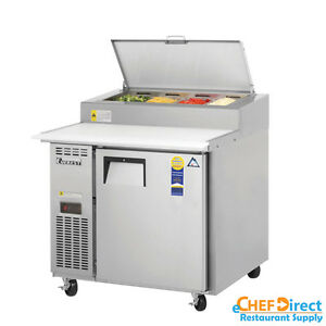 Everest Eppr1 36 Single Door Pizza Prep Table