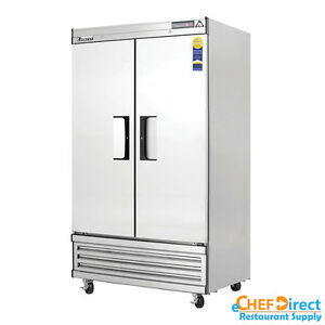 Everest Ebnf2 39 Double Door Reach in Freezer