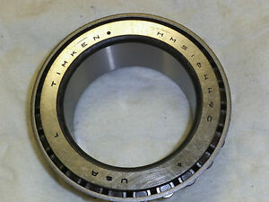 Timken Hm516449c Tapered Roller Bearing Inner Race Assembly Cone Steel Inch 3