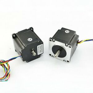 Nema23 Dual Shaft 1a 181oz in Hybrid Stepper Motor 23hs22ds