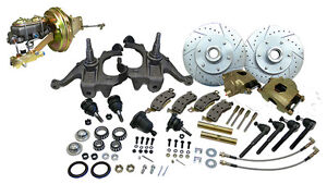 1963 66 Chevy gmc Truck C10 Front Disc Brake Conversion Kit 5 Lug Stock Height