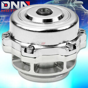 Universal 50mm Aluminum Silver Turbo Blow Off Valve 35 Psi Boost spring flange