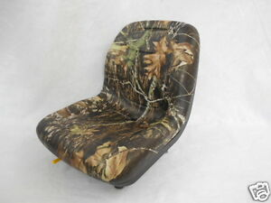 Camo Seat Bobcat Ford New Holland case john Deere gehl Skid Steer Loaders eu