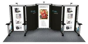 10 X 20 Trade Show Booth Exhibit Stand Truss