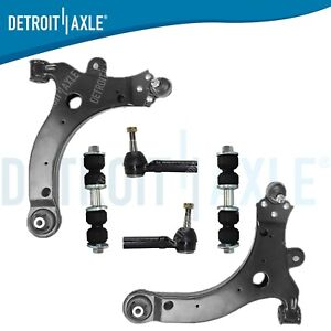 Chevy Venture Pontiac Grand Prix Front Lower Control Arm Tierod Sway Bar Kit