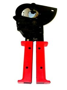 Klein Tools Compact Ratcheting Mcm Acsr Copper Aluminum Cable Cutter 63602 new
