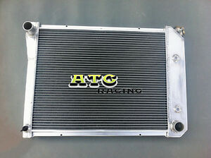 3 Rows Aluminum Radiator For Chevy Nova 1968 1969 1970 1971 1972 1973 1974