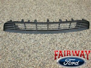 2013 Thru 2014 Mustang Oem Genuine Ford Billet Dark Lower Grille Grill W Emblem