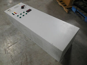 Used Abb Ach550 uh 045a 4 b055 Enclosed Variable Frequency Drive 30 Hp