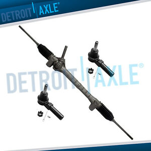 Electronic Steering Rack And Pinion Assembly Outer Tie Rod Ends Hhr G5 Cobalt