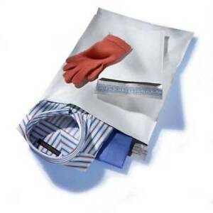 1000 9x12 White Poly Mailers Envelopes Bags 9 X 12 Quality 2 5mil
