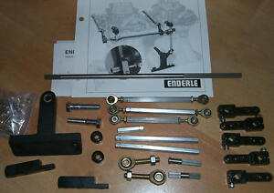 Genuine Dual Carb Linkage Kit Chevy Enderle Edelbrock Holley Tunnel Ram Demon