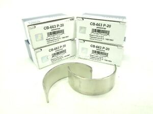 New Clevite Connecting Rod Bearings Set Of 4 Cb663p 20 Chevy Small Block V8