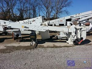 Boom Lift Altec At37g For Utility Bucket Truck Articulating Telescopic sold